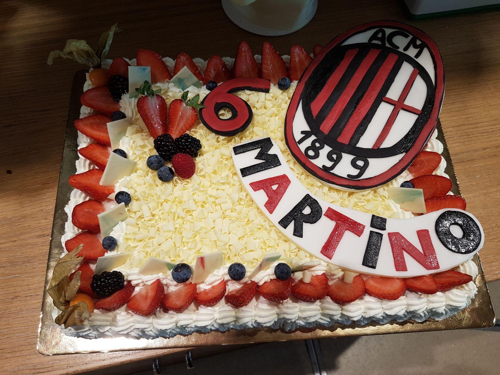 Torta di compleanno personalizzata Settimo Milanese