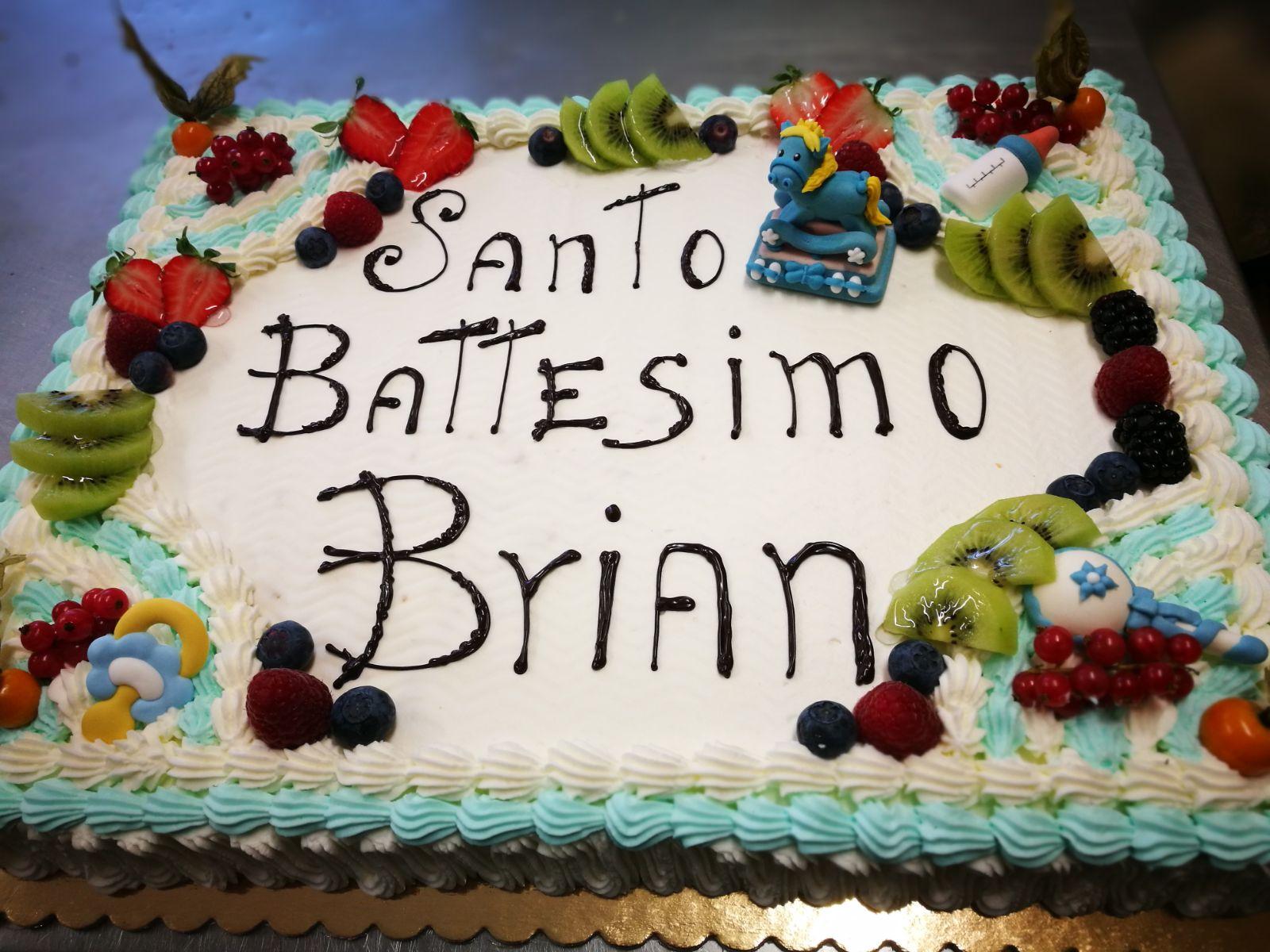 Torta per battesimo Settimo Milanese